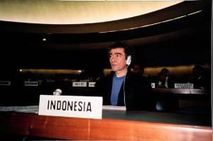 Gianni Motti à l'ONU